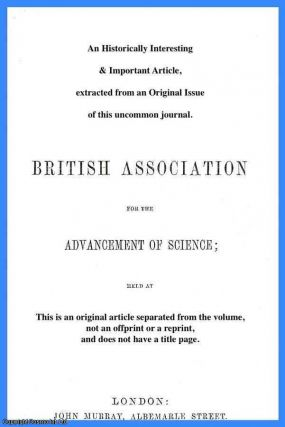 Joint Discussion on Lightning Conductors. A rare original article from the British Association...