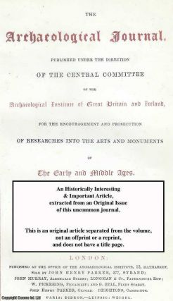 The Ecclesiastical Architecture of Ireland, by George Petrie. A rare original article from the...