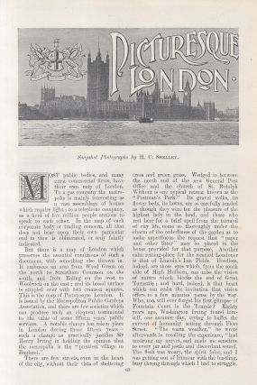 Picturesque London. An original article from the Windsor Magazine, 1898