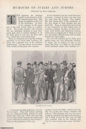 Humours of Juries and Jurors. Illustrated by Matt Stretch. An original article from the Windsor...