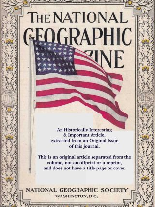 Our Narrowing World: The Story of The New National Geographic Map. An original article from the...