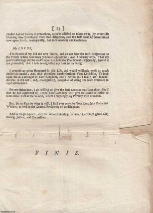 [JACOBITE ATTERBURY PLOT] The Speech of Mr. George Kelly. Spoke at the Bar of the House of Lords, on Thursday, the 2d of May, 1723. In his defence against the bill then depending, For Inflicting Pains and Penalties upon Him.