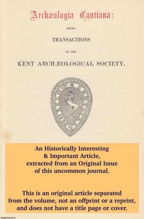 Excavation at Prior's Gate House, Rochester 1976-77. An original article from The Archaeologia...